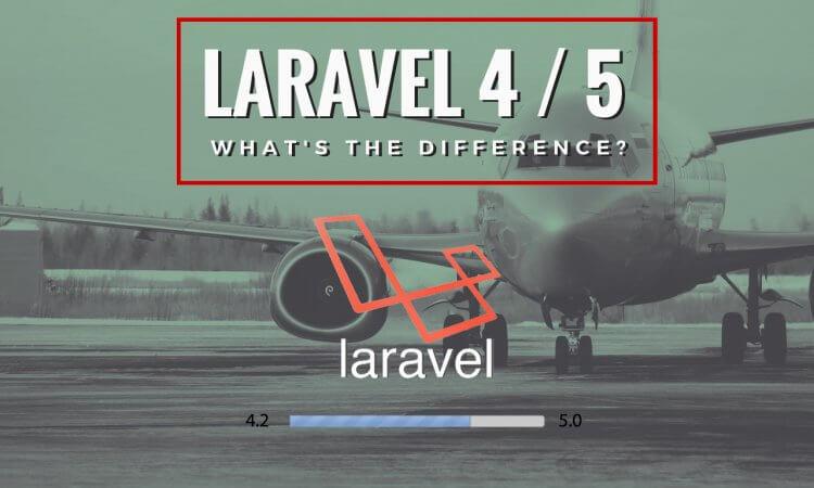 upgrade laravel 4 to laravel 5