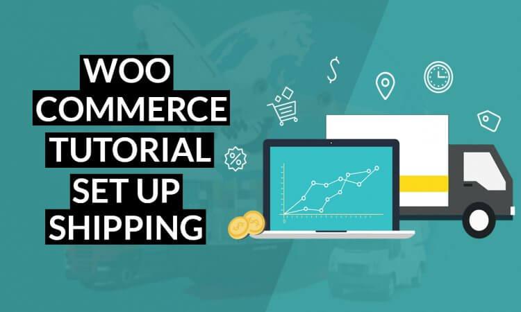 set up woocommerce shipping tutorial
