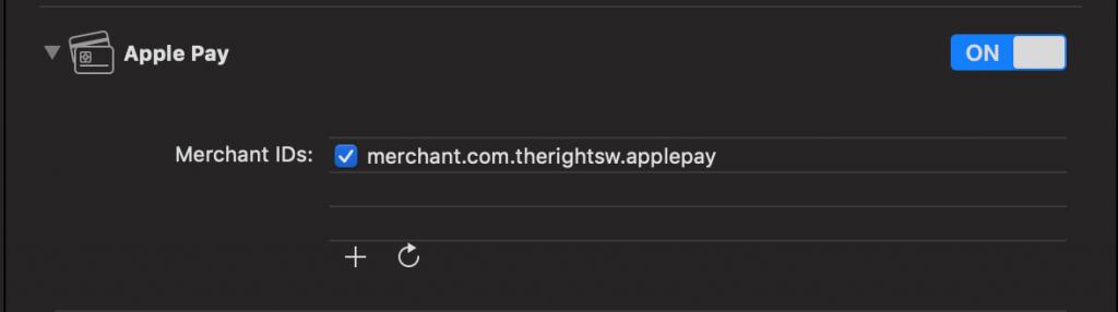 Integrating Apple Pay - Merchant registration