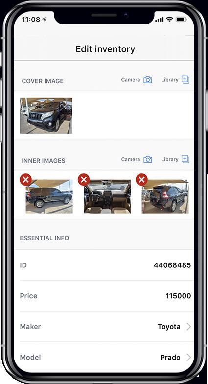 Classified Cars App Screen 4