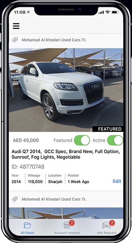 Classified Cars App Screen 5