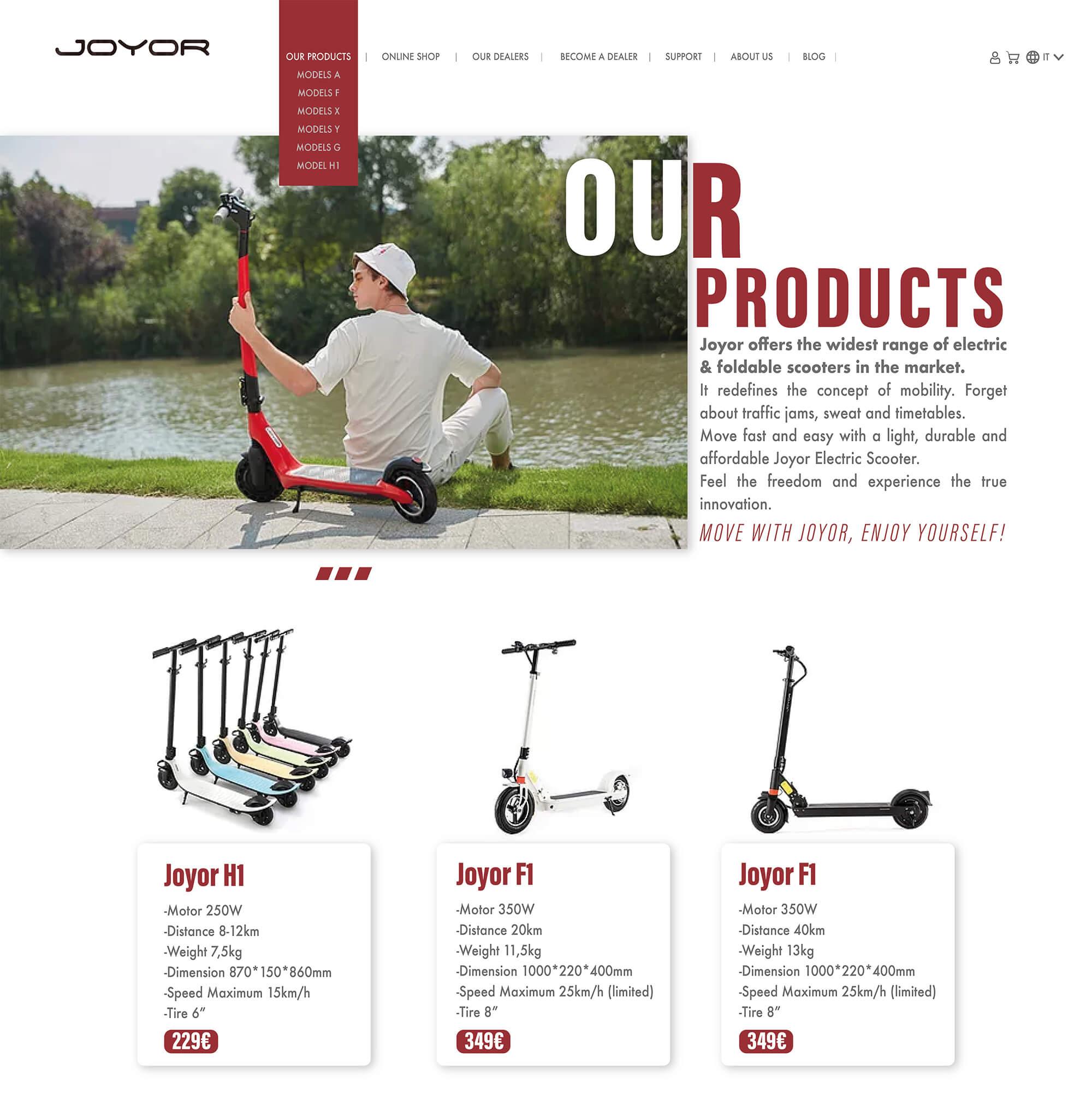 JOYOR-models