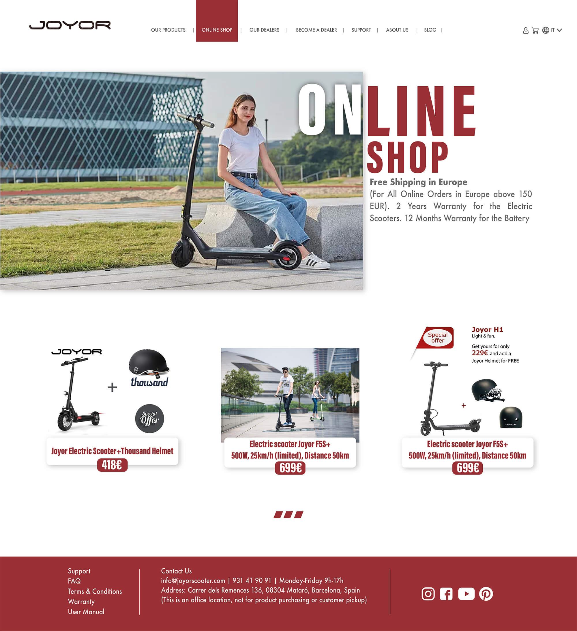 JOYOR website-4