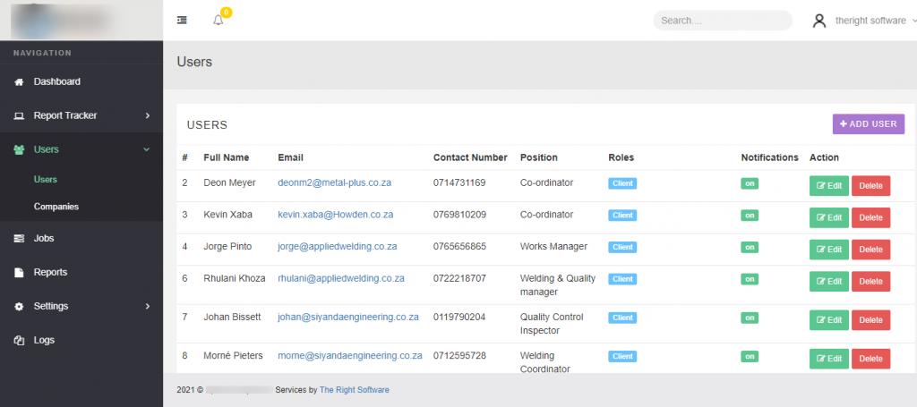 User Roles, Permissions & Activity Logs