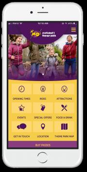 Theme Park Booking Mobile App